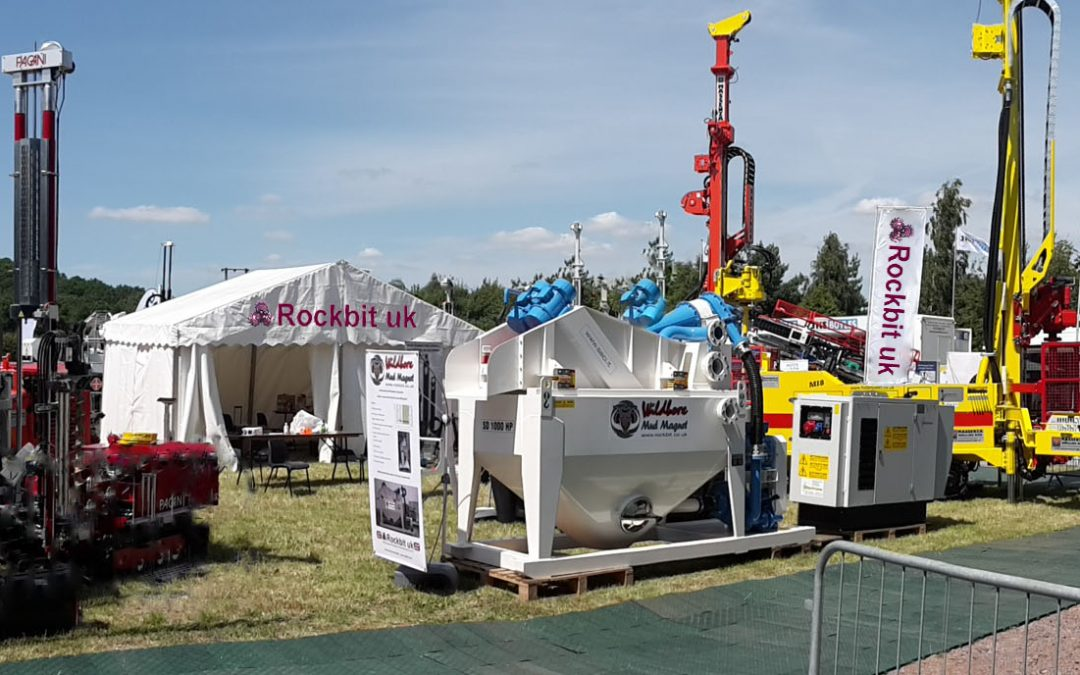 Come and see Rockbit on Stand 9 the Geotechnica 2017